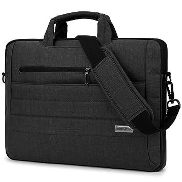 BRINCH Maletín portátil bolsa de hombro ligero y resistente al agua Maletín de mano Bolso para