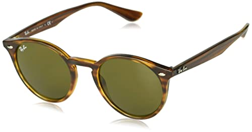 Amazon.com: Ray-Ban Unisex-Adult RB2180 Round Sunglasses ...