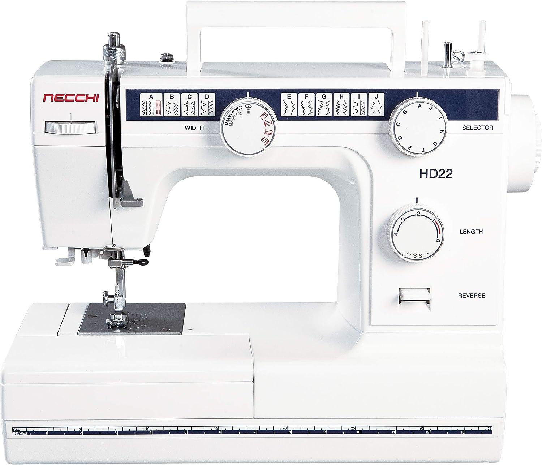 Máquina de coser Necchi HD22 mecánico: Amazon.es: Amazon.es