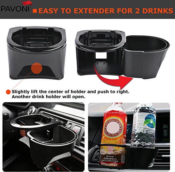Quality Car Van Mpv Drink Holder Can Coke Water Easy Fit Handy Gift