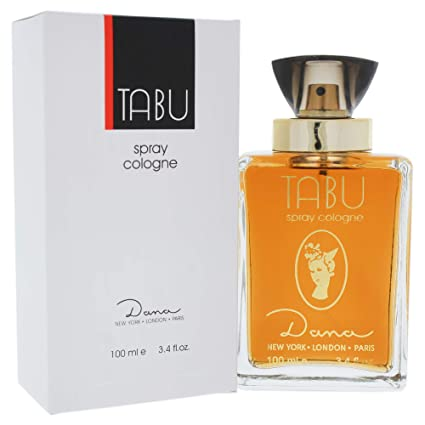 Dana Tabu EDC Eau de Cologne Spray, 100 ml