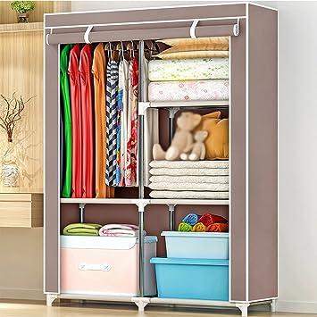 Amazon.de: LIEHU HOME-Kleiderschrank Tuch Kleiderschrank Einfache ...