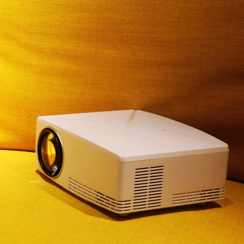 SODIAL Proyector LED C80, ResolucióN 1280X720, Proyector para Cine ...