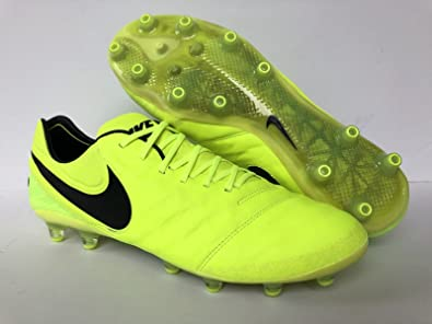 the latest 9fa47 7267b Amazon.com | NIKE Tiempo Legend VI AG-PRO Volt/Black-Volt US ...