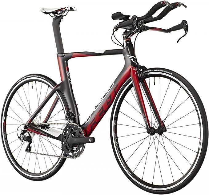 Felt B14 - Bicicletas triatlón - rojo/negro Tamaño del cuadro 51 ...