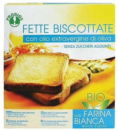 Probios Bizcochos 100% orgánico Blanca Harina de espelta 270g