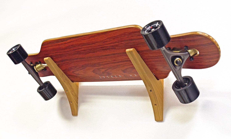 EYLIFE Skateboard Halterung Wand Longboard Halterung Wand Skateboard Aufh/ängung mit Schrauben Schwarz