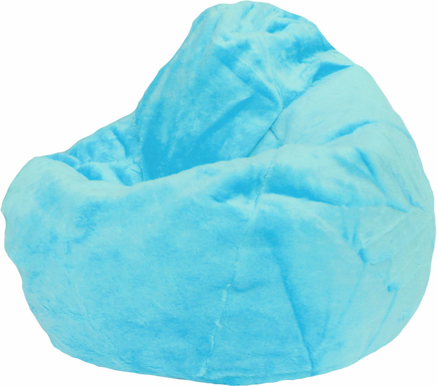 Blue Bean Bag Chairs - Amazon com furry bean bag chair in baby blue by beanbagblitz com toys games