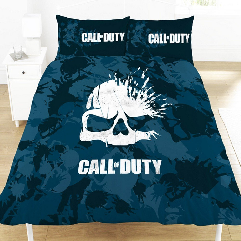 Call Duty Reversible Duvet Set (Double) (Navy) Call Of Duty UTSG12947_1