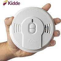 Kidde Safety - 21026055 Kidde Sealed Lithium Battery Power Smoke Detector Alarm   Model i9010,White