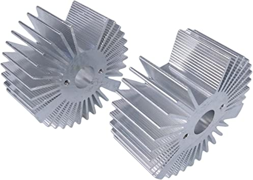 5pcs 5W Watt LED Aluminium Heatsink Round