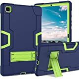 Galaxy Tab A7 10.4 Case 2020, DUEDUE Kickstand Shockproof 3 in 1 Heavy Duty Hybrid Hard PC Cover High Impact Full Body Protec