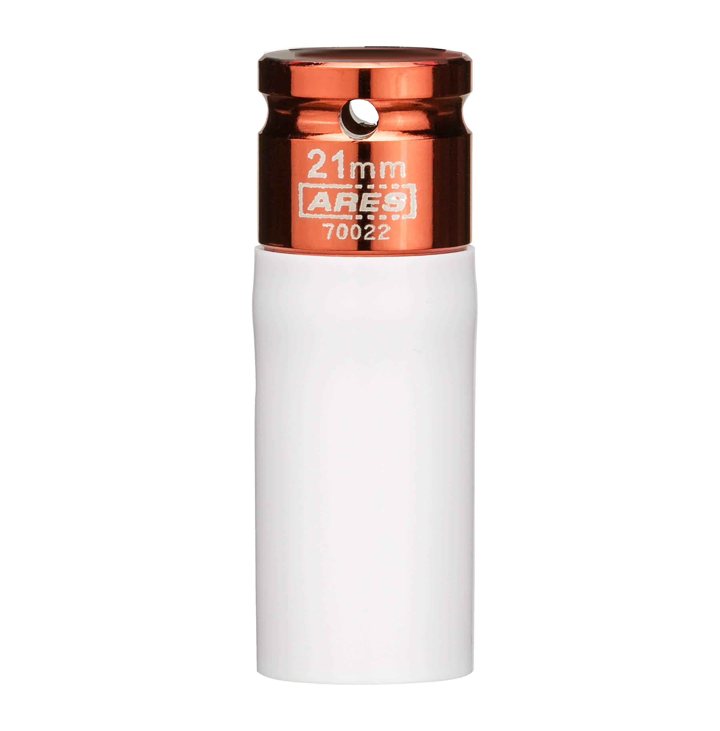 Titan 21117 XL 1//2-Inch Drive x 17mm Non-marring Impact Extra-Long Lug Nut Socket