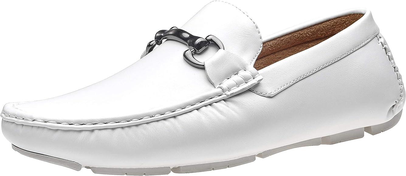 VOSTEY Men's Loafers Mens Slip On Shoes