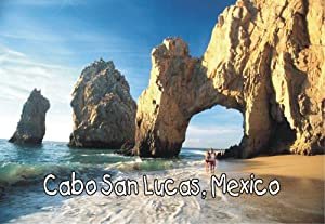 Cabo San Lucas, Mexico, Beach, Ocean, MX, Souvenir Magnet 2 x 3 Fridge Photo Magnet