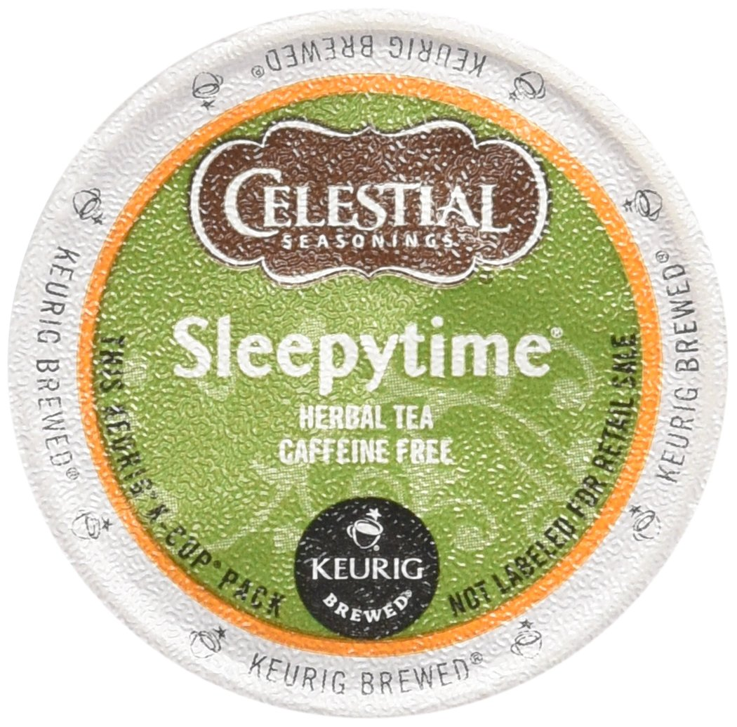 B00IOXU9U6 Celestial Seasonings Sleepytime Herbal Tea, K-Cup Portion Pack for Keurig K-Cup Brewers, 96 Count 71WNVREuoRL