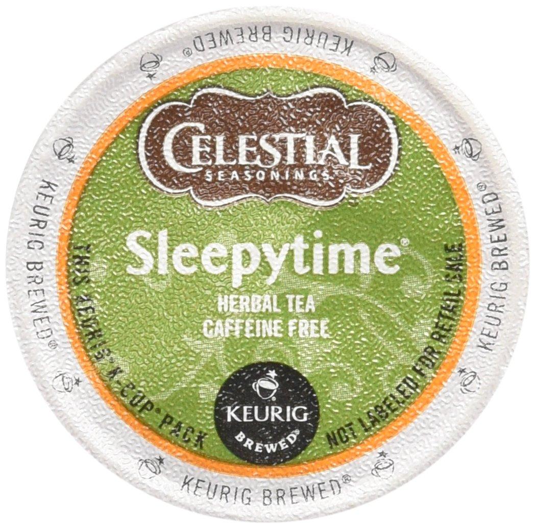 Celestial Seasonings Sleepytime Herbal Tea, K-Cup Portion Pack for Keurig K-Cup Brewers, 96 Count by Celestial Seasonings