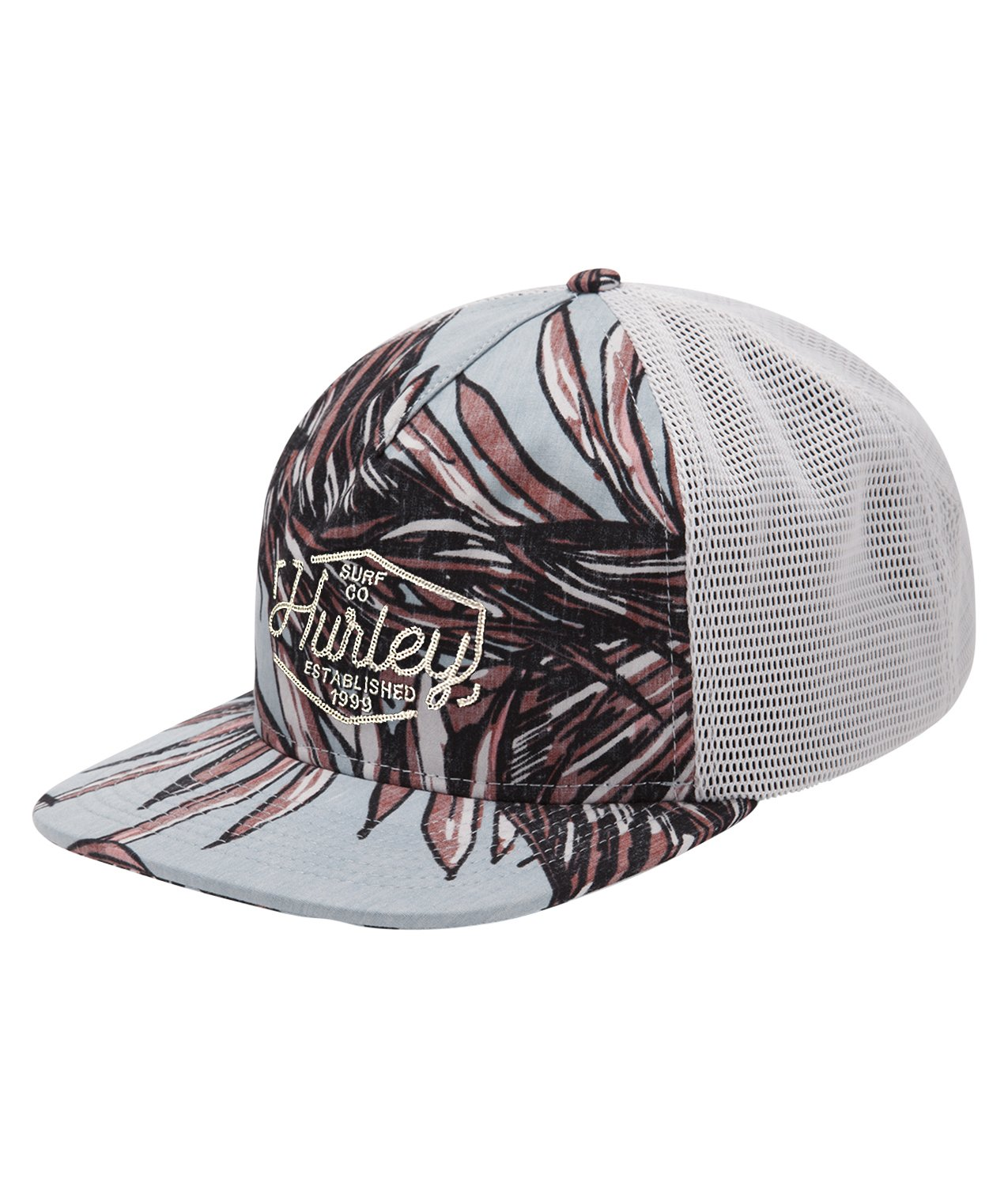 Hurley AA4476 Men's Koko Trucker Hat, Ocean Bliss - OS