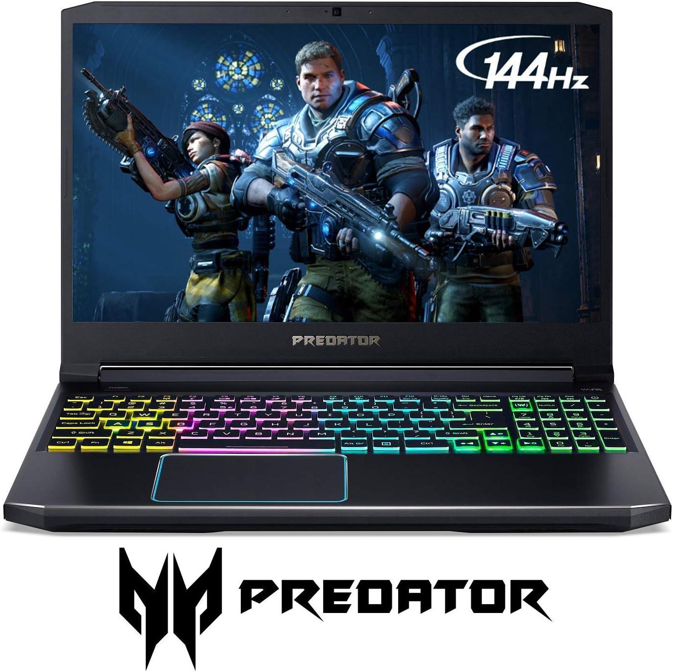 "Acer Predator Helios 300 - 15.6"" Intel i7-9750H 2.6GHz 16GB Ram 512GB SSD W10H (Renewed)"