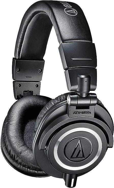 Oferta amazon: Audio-Técnica ATH-M50x - Auriculares para DJ, color negro