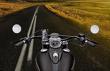 Soporte movil moto cargador compatible con iphone x nueva ...