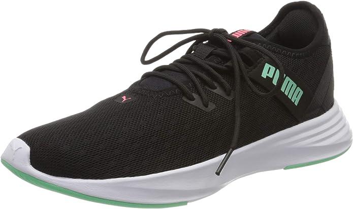 Puma Radiate XT Pattern Sneakers Damen Schwarz/Weiß/Grün