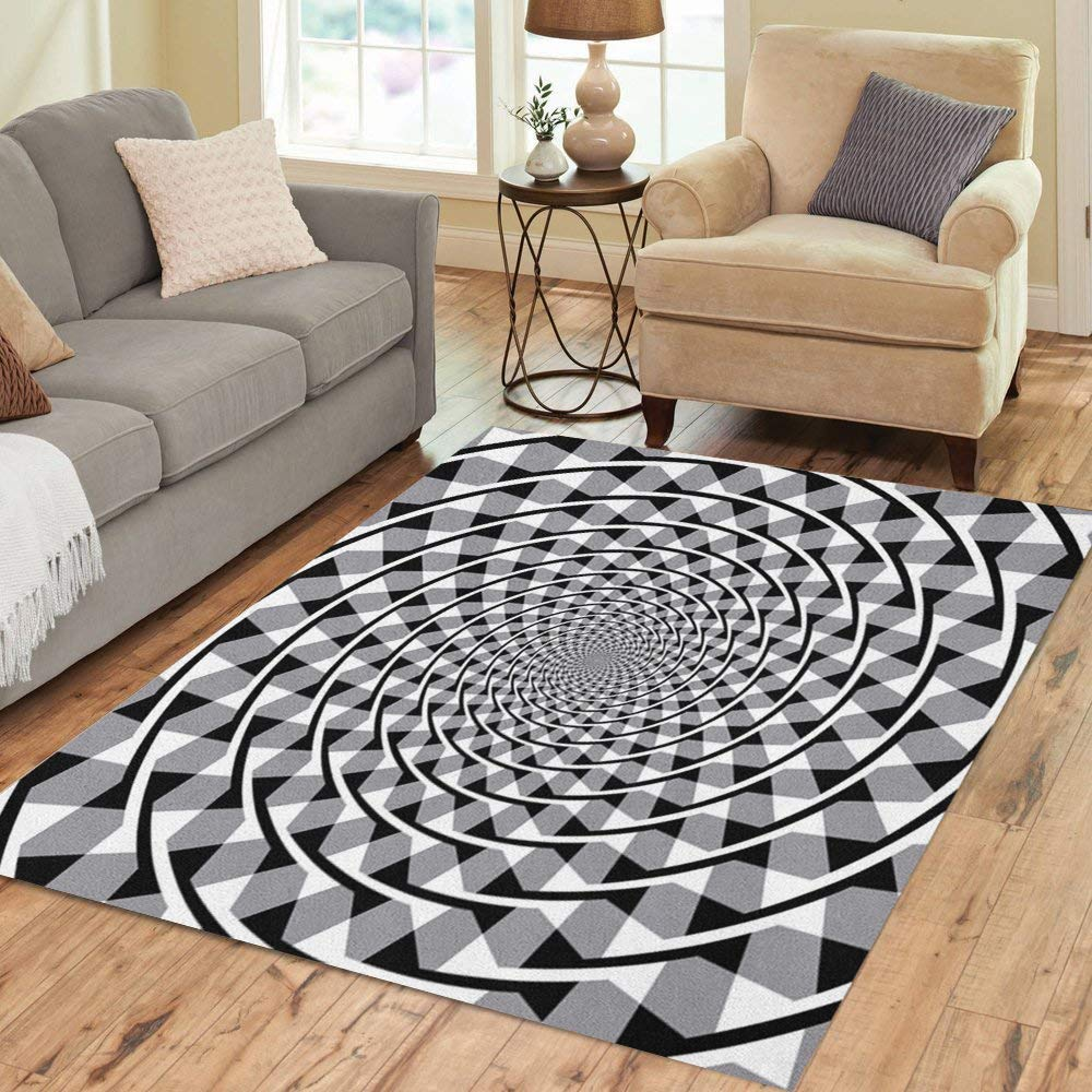 Amazon.com: Semtomn Area - Alfombra de 2 x 3 pulgadas, color ...