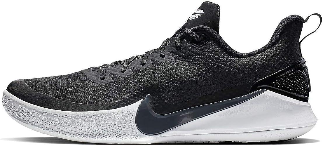 Nike Herren Mamba Focus Basketballschuhe, Schwarz (Black