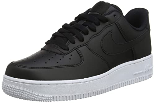 buy online 3086f fbf95 Nike Men s Air Force 1  07 Aa4083-015 Basketball Shoes, Black White
