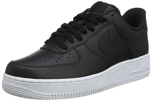 buy online cb3a3 4620b Nike Men s Air Force 1  07 Basketball Shoes, Black White 015, ...