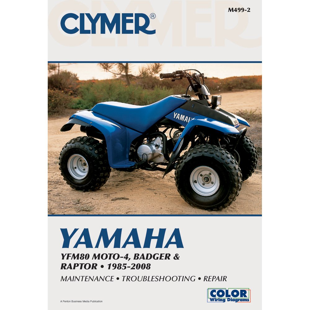 Amazon.com: Clymer Repair Manual for Yamaha ATV YFM80 Badger 85-08:  Automotive