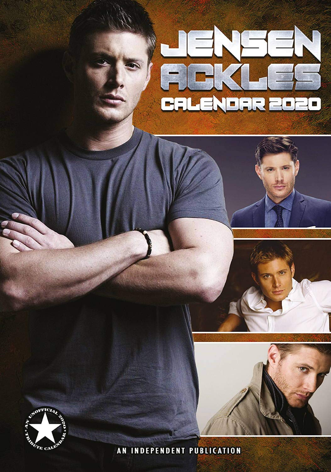 Jensen Ackles Calendar - Calendars 2019 - 2020 Wall Calendars - Supernatural Calendar - Movie Wall Calendar - Sexy Men Calendar - Poster Calendar - 12 Month Calendar by Dream (Multilingual Edition) by Dream Publishing