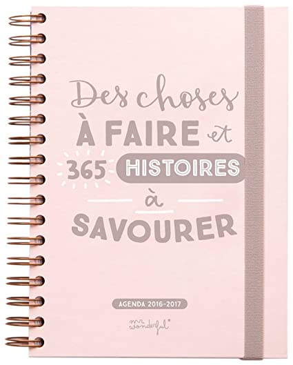 Mr.Wonderful WOA03571FR - Agenda 2016/2017, diseño de Des ...