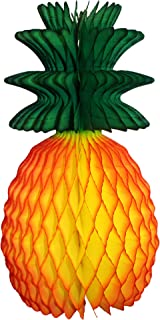 product image for 3-pack 13 Inch Honeycomb Pineapple Fruit Decoration