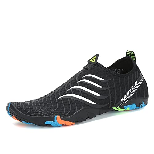 0f3d9c1be6e5 Image Unavailable. Image not available for. Color  Breathable Aqua Socks  Mens Water Shoes Quick Dry Womens ...