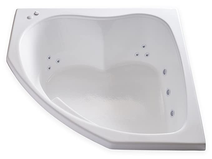 Best Acrylic Bathtub: Carver Tubs Whirlpool SKC5555