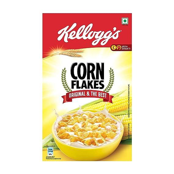 Kellogg's Corn Flakes Original, 475g: Amazon.in: Grocery & Gourmet