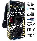 Biwond - Sistema per karaoke JoyBox, con tecnologia Bluetooth, per band