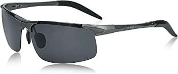 SUNGAIT Men's UV400 Polarized Sunglasses