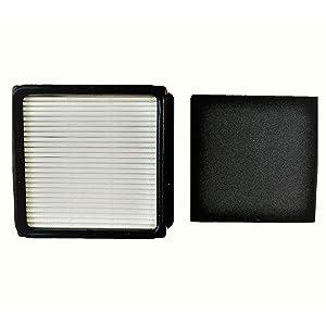 4YourHome Compatible F51 HEPA Filter and Foam Filter Set Designed for Dirt Devil UD70010 Upright