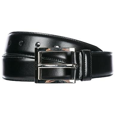 57d7bb4bb9da Prada ceinture homme en cuir noir EU 90 2C2701 X72 F0002  Amazon.fr ...