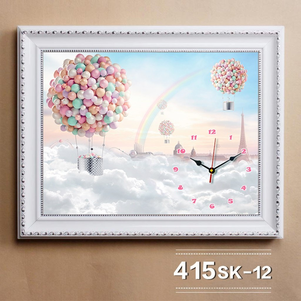 エッジが来る ウォールクロック リビングルームレストラン装飾的な絵画、北欧の箱の絵画、絵画の壁画 ( サイズ さいず : 50*40cm (in 40*30cm) ) B07BRST9Z2 50*40cm (in 40*30cm) 50*40cm (in 40*30cm)