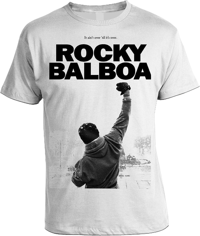 bubbleshirt Tshirt Rocky Balboa Tributo in Cotone by Film Cult