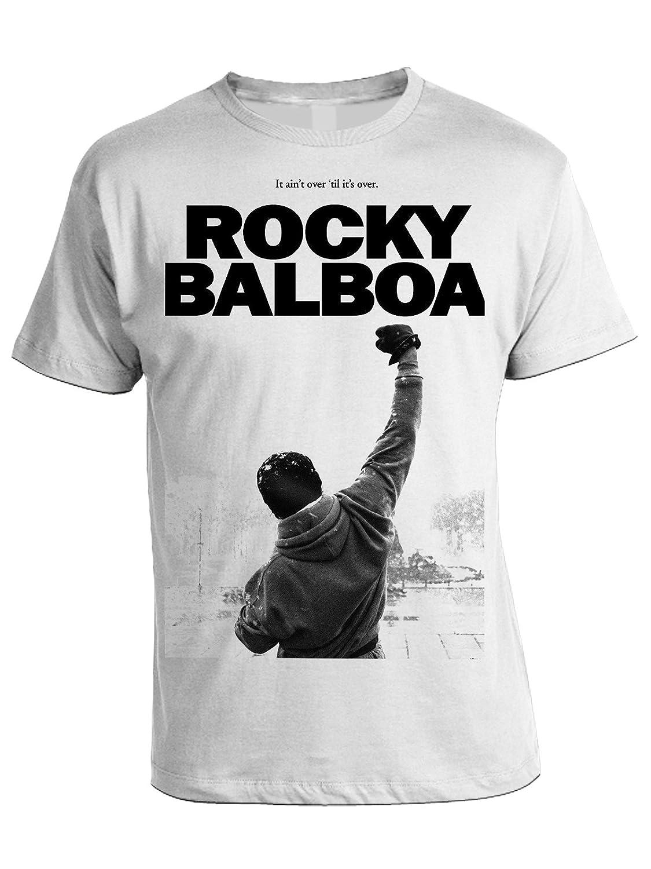 in Cotone by Film Cult bubbleshirt Tshirt Rocky Balboa Tributo