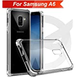 Knotyy Soft TPU Back Cover for Samsung Galaxy A6 (Transparent)
