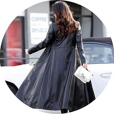 Amazon.com: Chaquetas de cuero sintético para mujer, abrigo ...