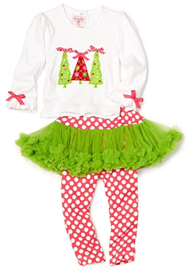Mud Pie Baby or Toddler Girls Christmas Tunic and Tutu Skirt 2 Piece Set (4T - Amazon.com : Mud Pie Baby Or Toddler Girls Christmas Tunic And Tutu
