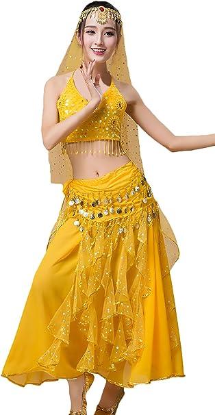 Carnaval Disfraz Adulto Mujer Rendimiento Las Profesionales Danza ...