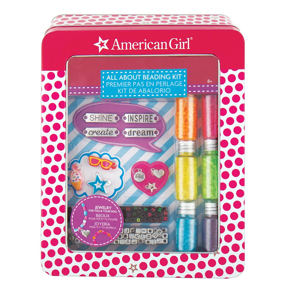 American Girl 24180 All About Beading Kit Multi by American Girl (Image #2)