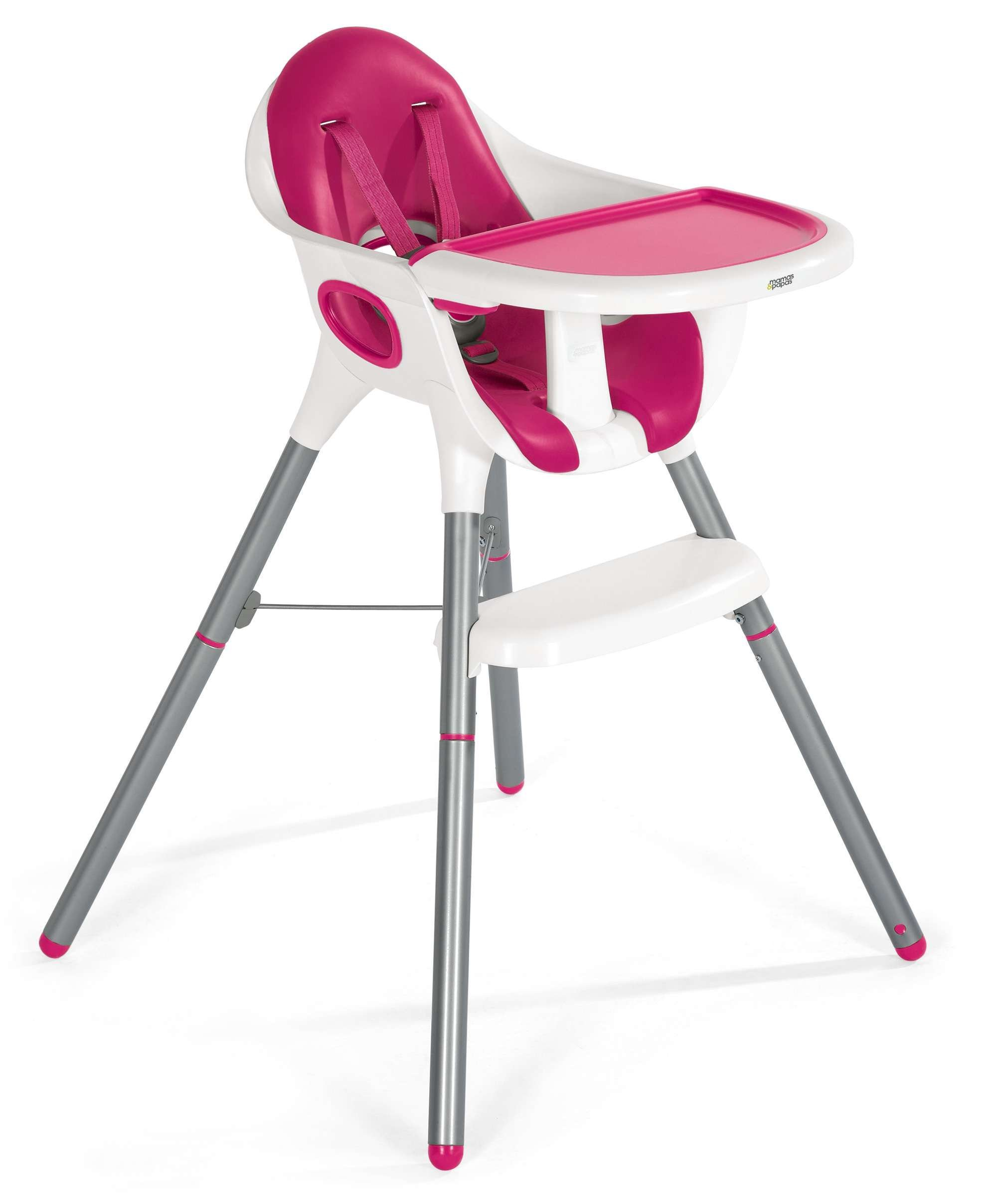 Mamas & Papas Juice High Chair, Pink